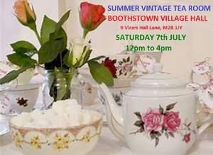 Summer vintage tea room   2018